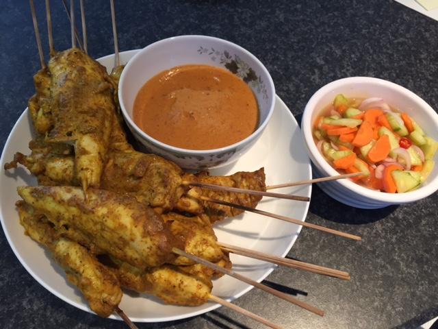 Chicken Satay Operation Good Food